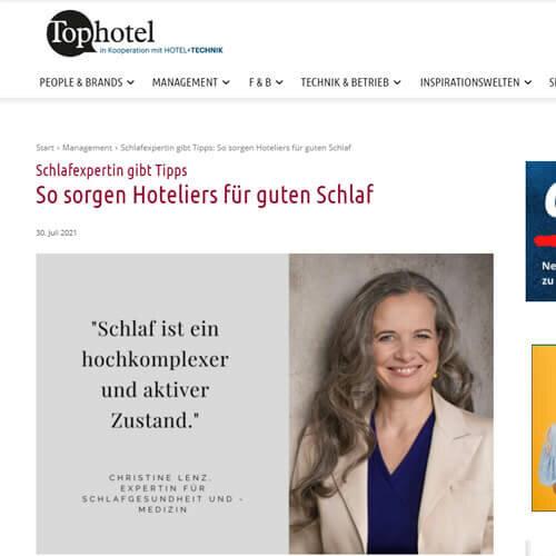 Screenshot von Tophotel.de
